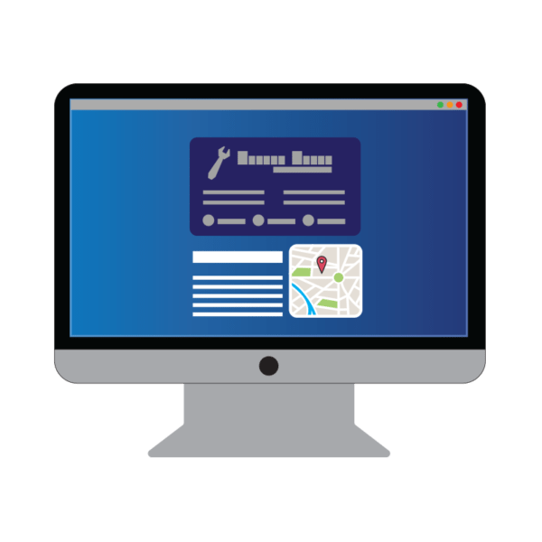 Vector e-tarjeta
