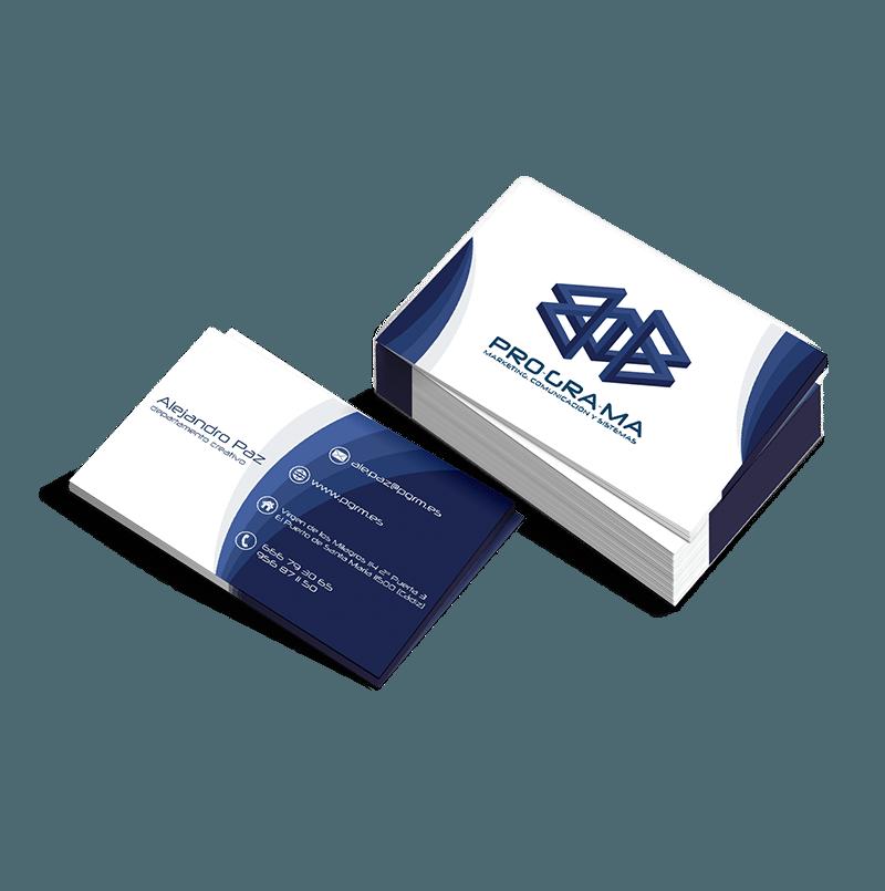 ada349b5a296d Tarjetas de visita para empresas - Diseño gráfico