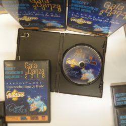 DVDs centro de baile Jerez